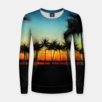 Thumbnail image of Sunset From The Car Women sweater, Live Heroes