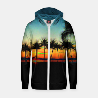 Sunset From The Car Zip up hoodie thumbnail image