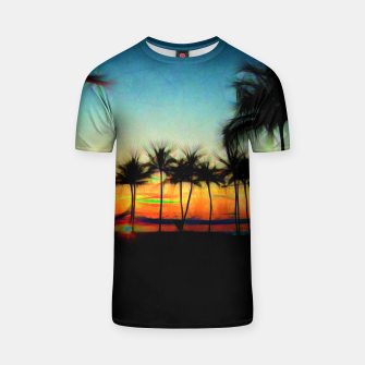 Thumbnail image of Sunset From The Car T-shirt, Live Heroes