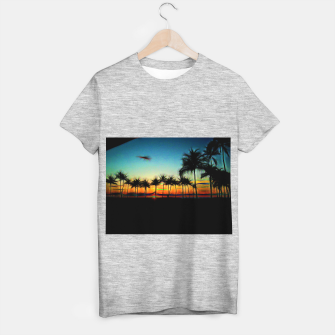 Thumbnail image of Sunset From The Car T-shirt regular, Live Heroes