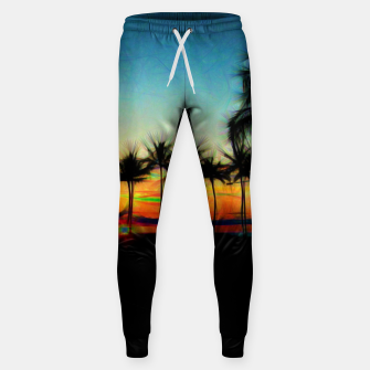 Sunset From The Car Sweatpants thumbnail image