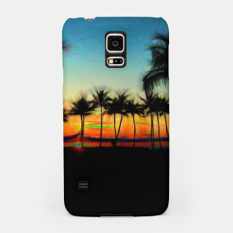 Sunset From The Car Samsung Case thumbnail image