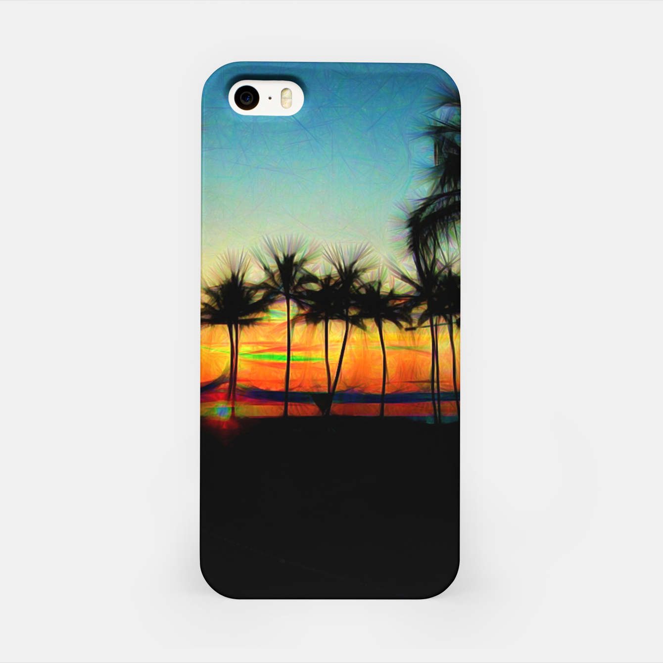 Image of Sunset From The Car iPhone Case - Live Heroes