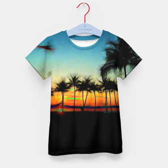 Thumbnail image of Sunset From The Car Kid's t-shirt, Live Heroes