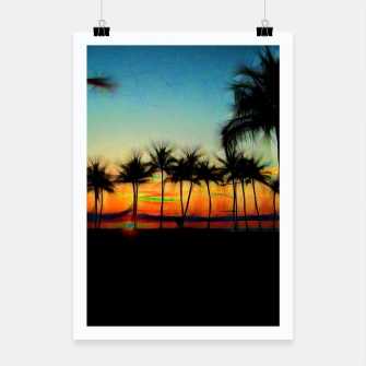 Miniatur Sunset From The Car Poster, Live Heroes