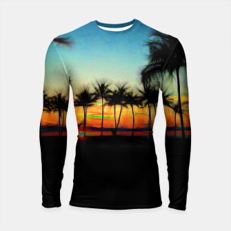 Thumbnail image of Sunset From The Car Longsleeve rashguard , Live Heroes