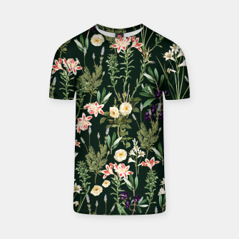 Thumbnail image of Dark Botanical Garden T-shirt, Live Heroes