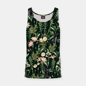Thumbnail image of Dark Botanical Garden Tank Top, Live Heroes