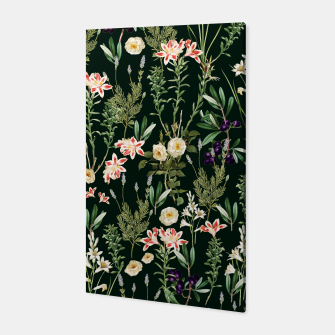 Thumbnail image of Dark Botanical Garden Canvas, Live Heroes