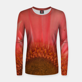 Thumbnail image of Pastel Pink and Yellow Daisy Women sweater, Live Heroes