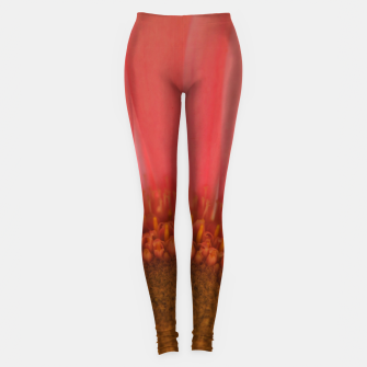 Thumbnail image of Pastel Pink and Yellow Daisy Leggings, Live Heroes