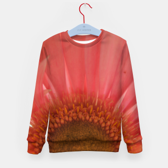 Thumbnail image of Pastel Pink and Yellow Daisy Kid's sweater, Live Heroes