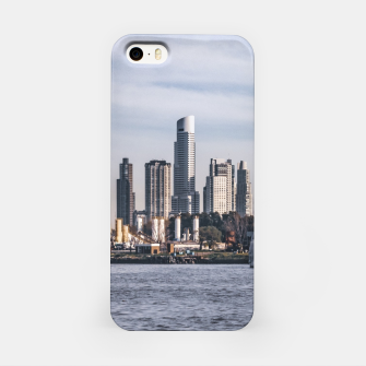 Thumbnail image of Panoramic View Dock Buenos Aires, Argentina iPhone Case, Live Heroes