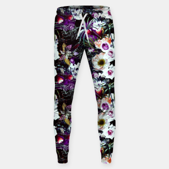 Skull in dark bloom Pantalones de chándal  thumbnail image