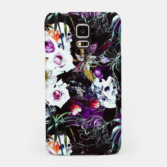 Skull in dark bloom Carcasa por Samsung thumbnail image