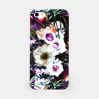 Skull in dark bloom Carcasa por Iphone thumbnail image
