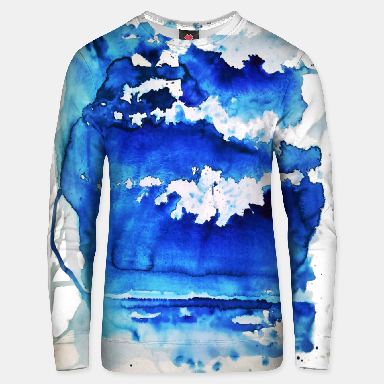 Image of sky is over by Yulia A. Korneva Unisex sweater - Live Heroes