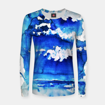 Thumbnail image of sky is over by Yulia A. Korneva Women sweater, Live Heroes