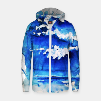 sky is over by Yulia A. Korneva Zip up hoodie thumbnail image