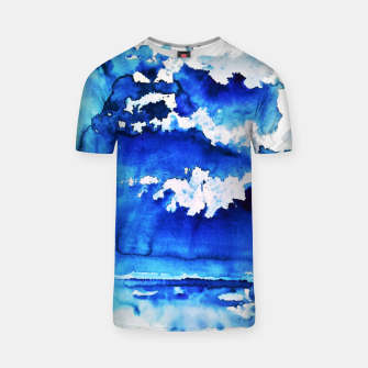 Thumbnail image of sky is over by Yulia A. Korneva T-shirt, Live Heroes