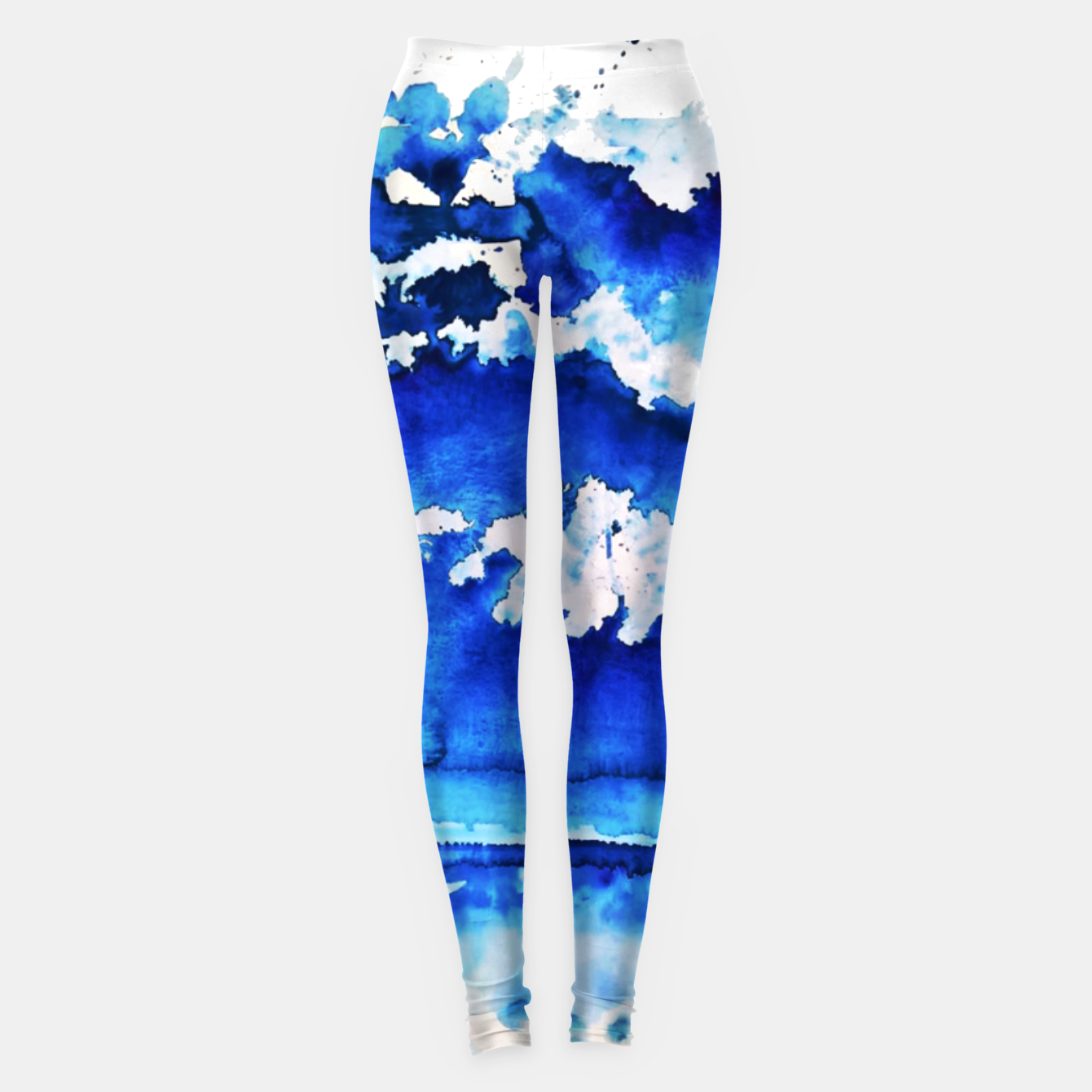 Image of sky is over by Yulia A. Korneva Leggings - Live Heroes