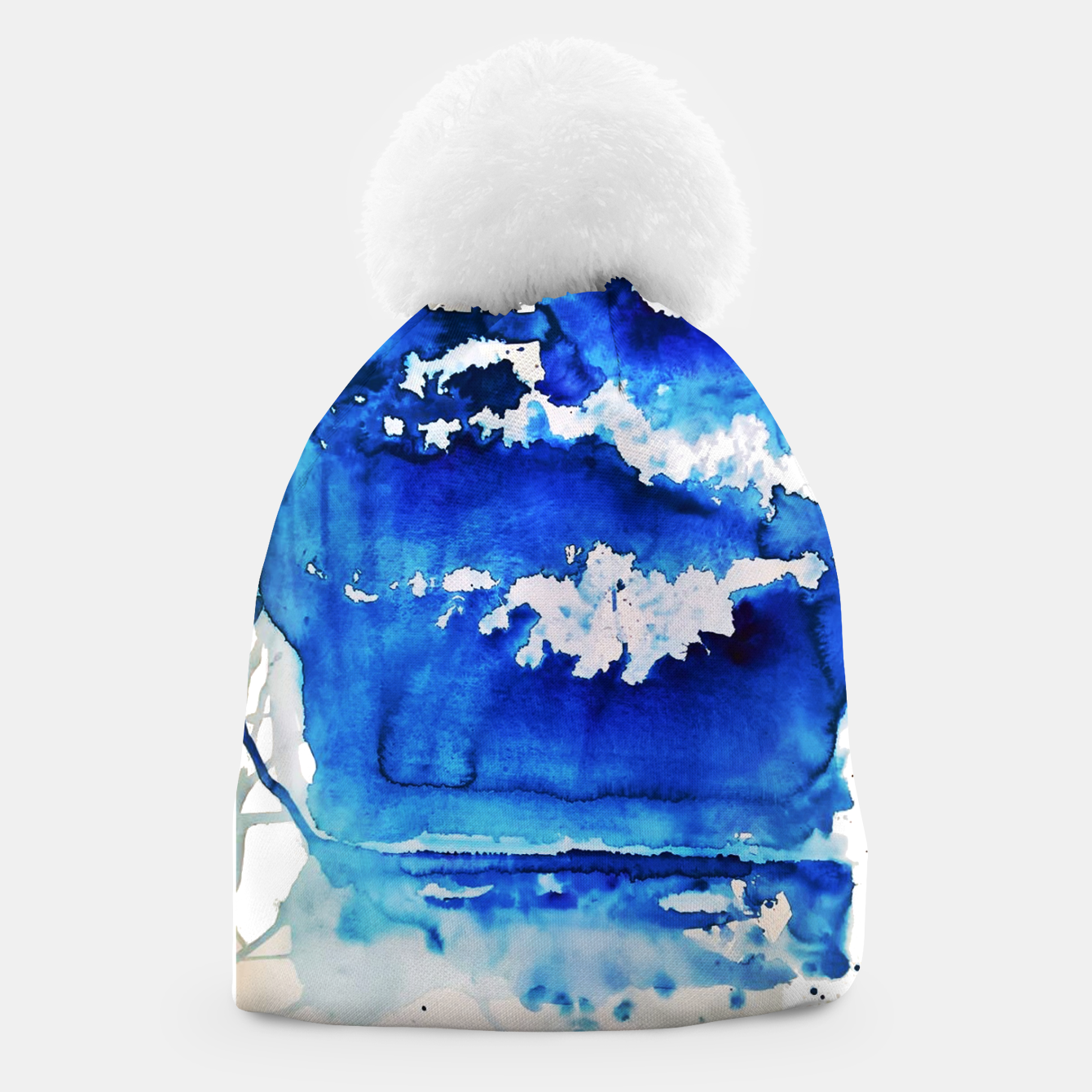 Image of sky is over by Yulia A. Korneva Beanie - Live Heroes