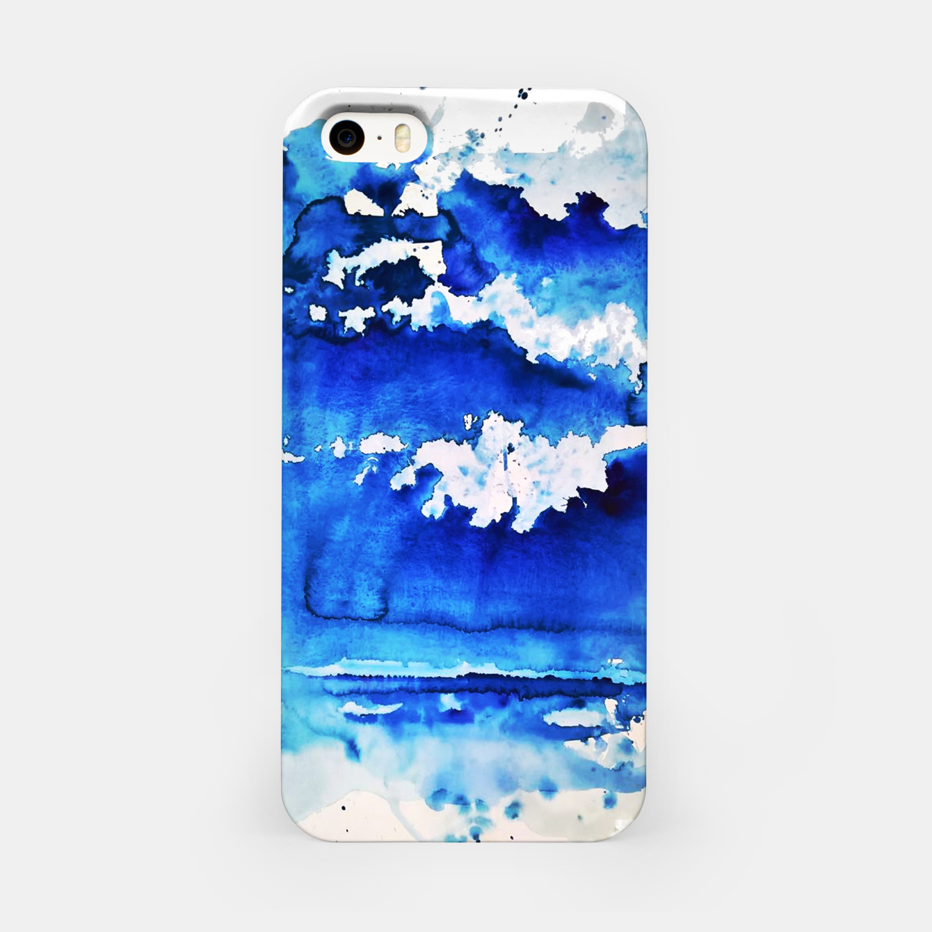Image of sky is over by Yulia A. Korneva iPhone Case - Live Heroes