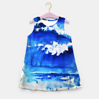 Thumbnail image of sky is over by Yulia A. Korneva Girl's summer dress, Live Heroes