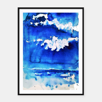 Thumbnail image of sky is over by Yulia A. Korneva Framed poster, Live Heroes