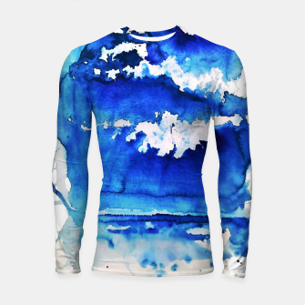 Thumbnail image of sky is over by Yulia A. Korneva Longsleeve rashguard , Live Heroes