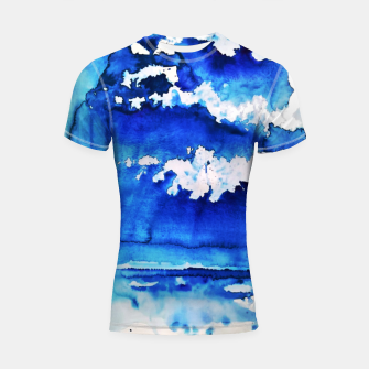 Thumbnail image of sky is over by Yulia A. Korneva Shortsleeve rashguard, Live Heroes