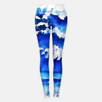 Thumbnail image of sky is over by Yulia A. Korneva Leggings, Live Heroes