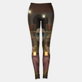 Thumbnail image of Street Art 1 Leggings, Live Heroes