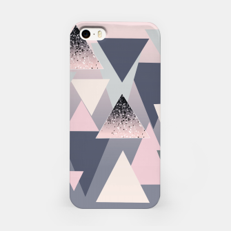Imagen en miniatura de Geometric Triangles Glitter Dream #1 #minimal #decor #art iPhone-Hülle, Live Heroes