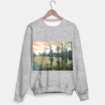 Miniaturka Sunset in Yellow on The Lake Sweater regular, Live Heroes