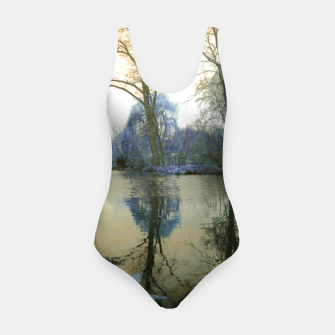 Thumbnail image of Sunset in Yellow on The Lake Swimsuit, Live Heroes
