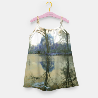 Miniature de image de Sunset in Yellow on The Lake Girl's dress, Live Heroes
