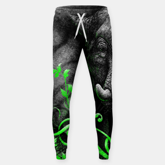 Thumbnail image of ELEPHANTIDAE (vegan animals) Sweatpants, Live Heroes