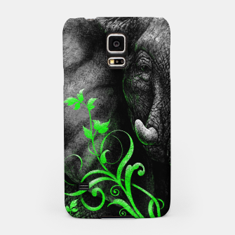 Thumbnail image of ELEPHANTIDAE (vegan animals) Samsung Case, Live Heroes