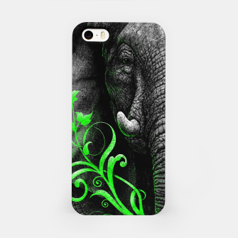 Thumbnail image of ELEPHANTIDAE (vegan animals) iPhone Case, Live Heroes