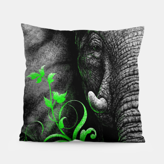 Thumbnail image of ELEPHANTIDAE (vegan animals) Pillow, Live Heroes