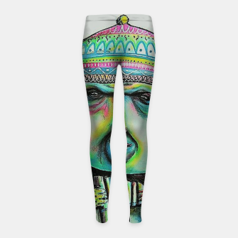 Street Art 2 Girl's leggings Bild der Miniatur