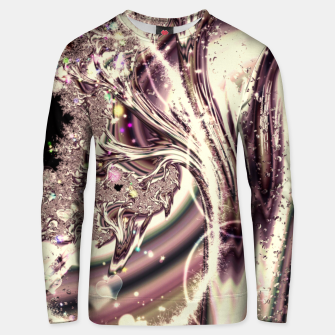 Thumbnail image of Liquid Silver Fractal Unisex sweater, Live Heroes