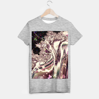 Thumbnail image of Liquid Silver Fractal T-shirt regular, Live Heroes