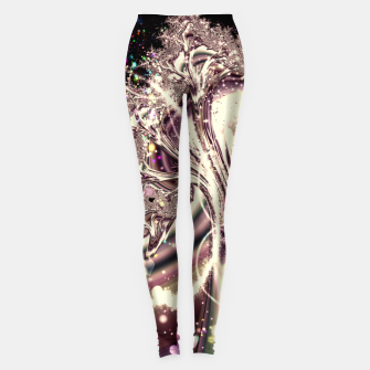 Thumbnail image of Liquid Silver Fractal Leggings, Live Heroes