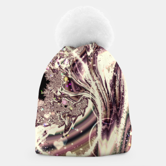 Thumbnail image of Liquid Silver Fractal Beanie, Live Heroes