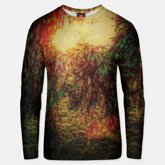 Thumbnail image of The Sun Through Fir Trees Unisex sweater, Live Heroes