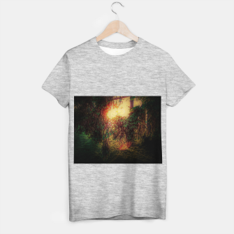 Thumbnail image of The Sun Through Fir Trees T-shirt regular, Live Heroes