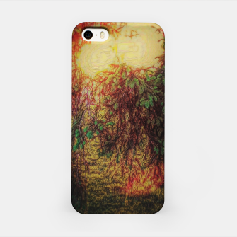 Imagen en miniatura de The Sun Through Fir Trees iPhone Case, Live Heroes