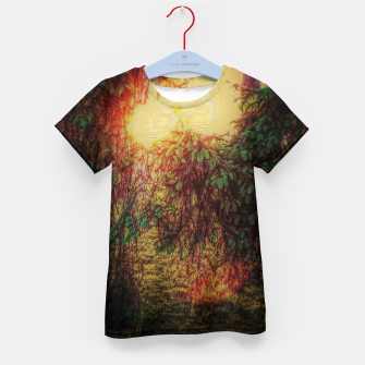 Thumbnail image of The Sun Through Fir Trees Kid's t-shirt, Live Heroes